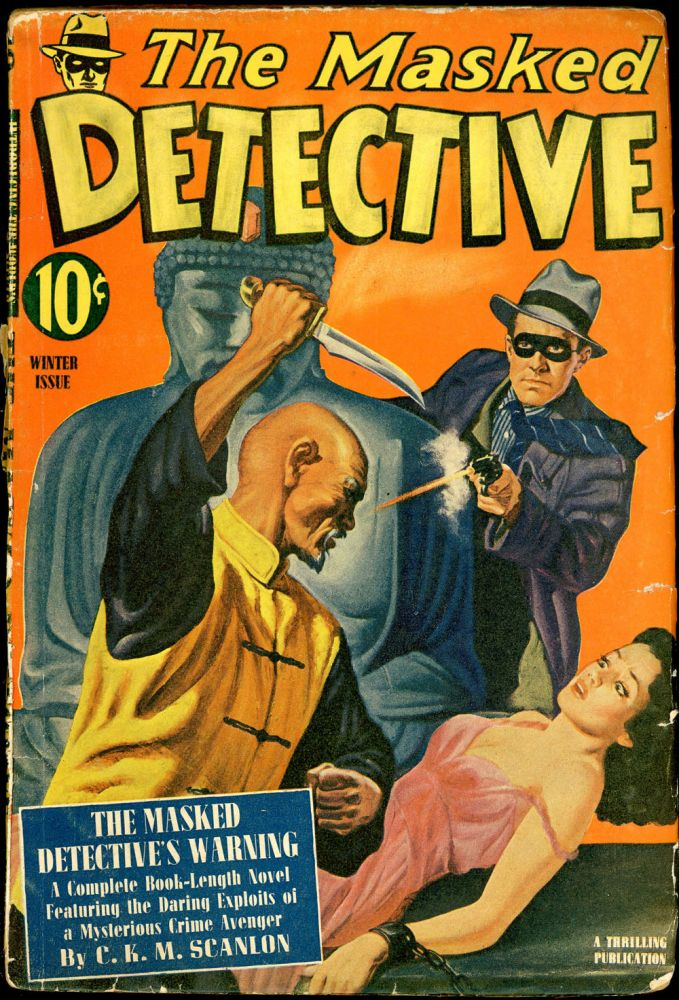 THE MASKED DETECTIVE. THE MASKED DETECTIVE. Winter 1941., No. 2 Volume 1.