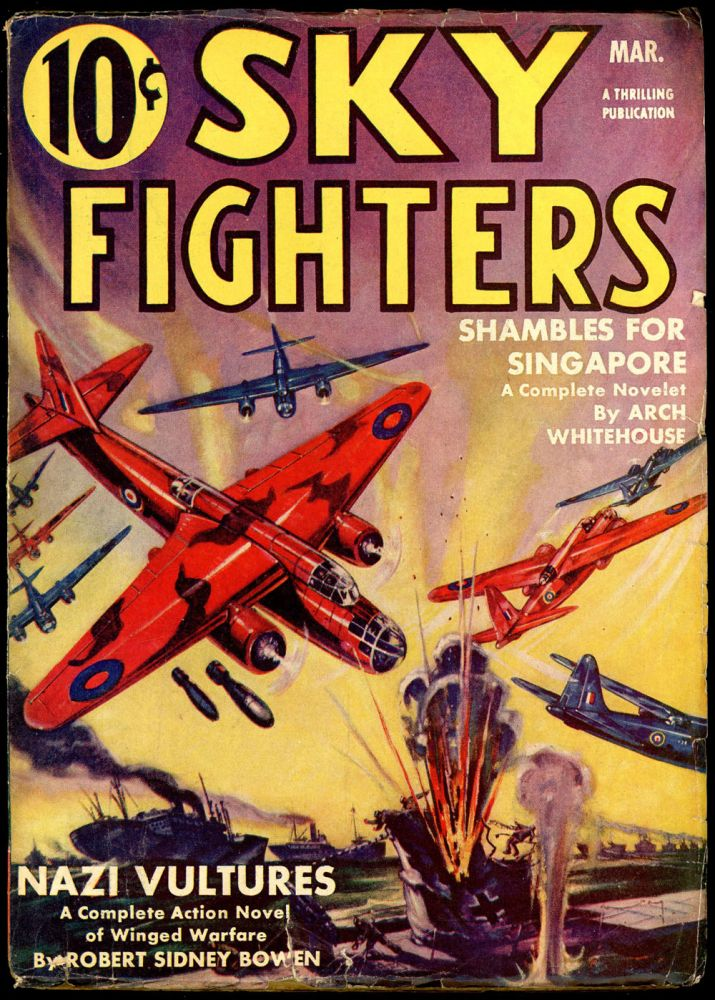 SKY FIGHTERS. No. 3. Lt. Edward McCrae SKY FIGHTERS. March 1942., Volume 36 (i e. likely 26.