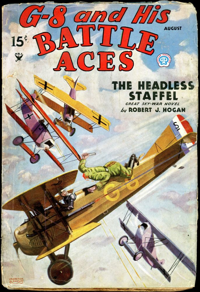 G-8 and HIS BATTLE ACES. G-8, HIS BATTLE ACES. August 1935, No. 3 Volume 6.