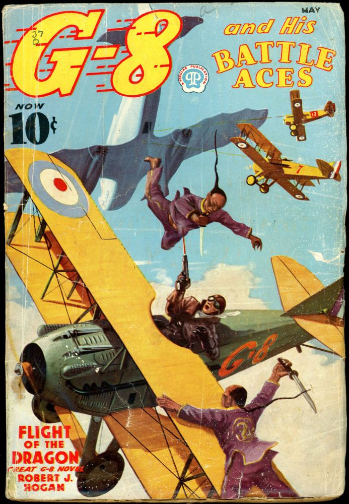 G-8 and HIS BATTLE ACES. G-8, HIS BATTLE ACES. May 1937, No. 4 Volume 11.