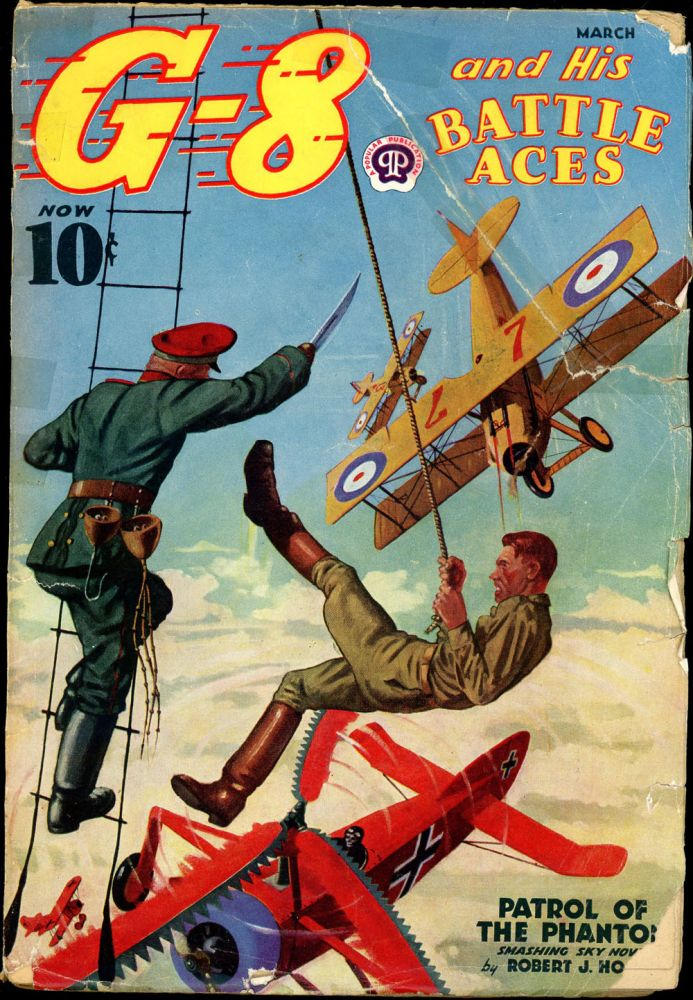 G-8 and HIS BATTLE ACES. G-8, HIS BATTLE ACES. March 1938, No. 2 Volume 14.