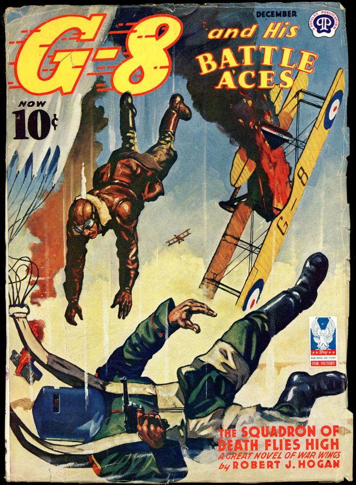 G-8 and HIS BATTLE ACES. G-8, HIS BATTLE ACES. December 1942, No. 1 Volume 26.