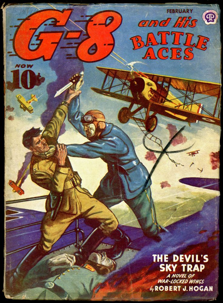 G-8 and HIS BATTLE ACES. G-8, HIS BATTLE ACES. February 1944, No. 4 Volume 27.