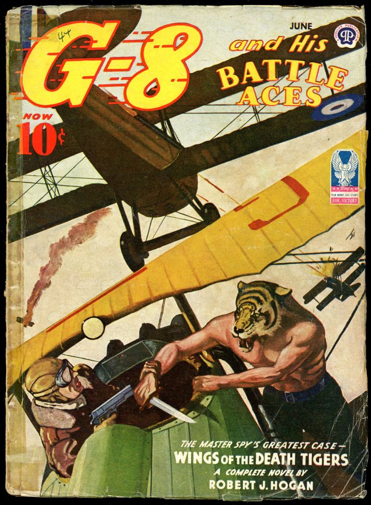 G-8 and HIS BATTLE ACES. G-8, HIS BATTLE ACES. June 1944, No. 2 Volume 28.