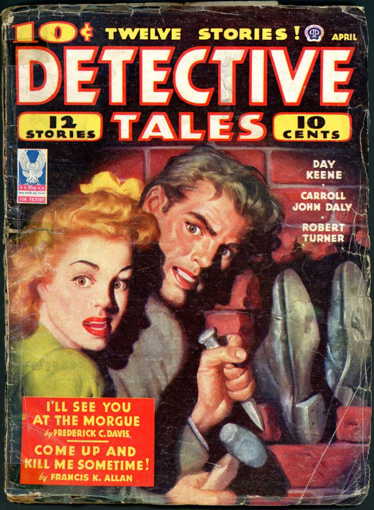 DETECTIVE TALES. DETECTIVE TALES. April 1944, No. 1 Volume 27.