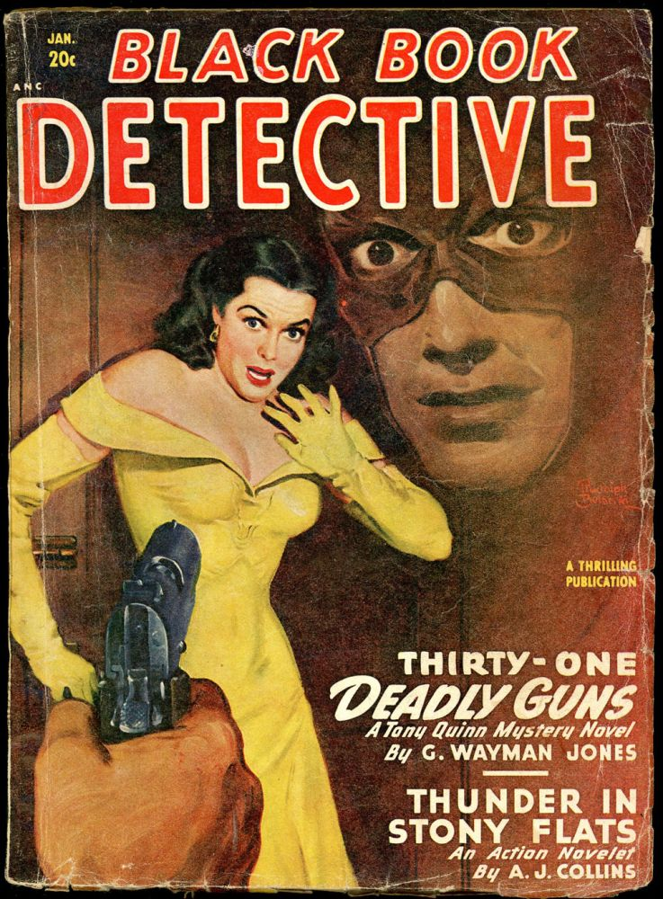 BLACK BOOK DETECTIVE. BLACK BOOK DETECTIVE. January 1949, No. 3 Volume 25.