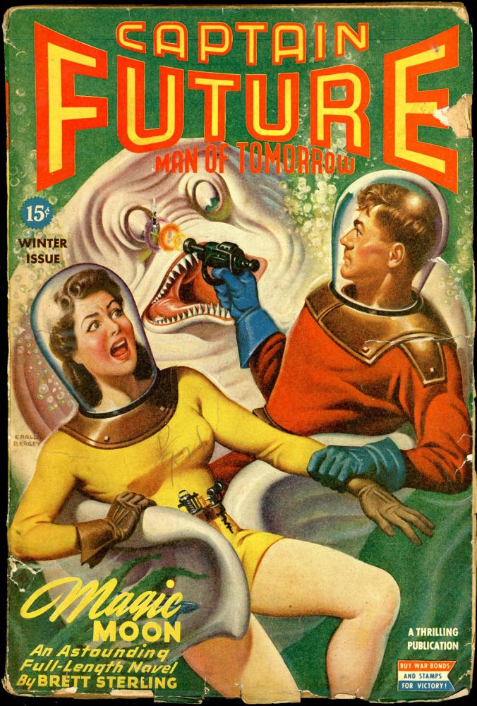 CAPTAIN FUTURE. CAPTAIN FUTURE. Winter 1944, Volume 6 No. 1.