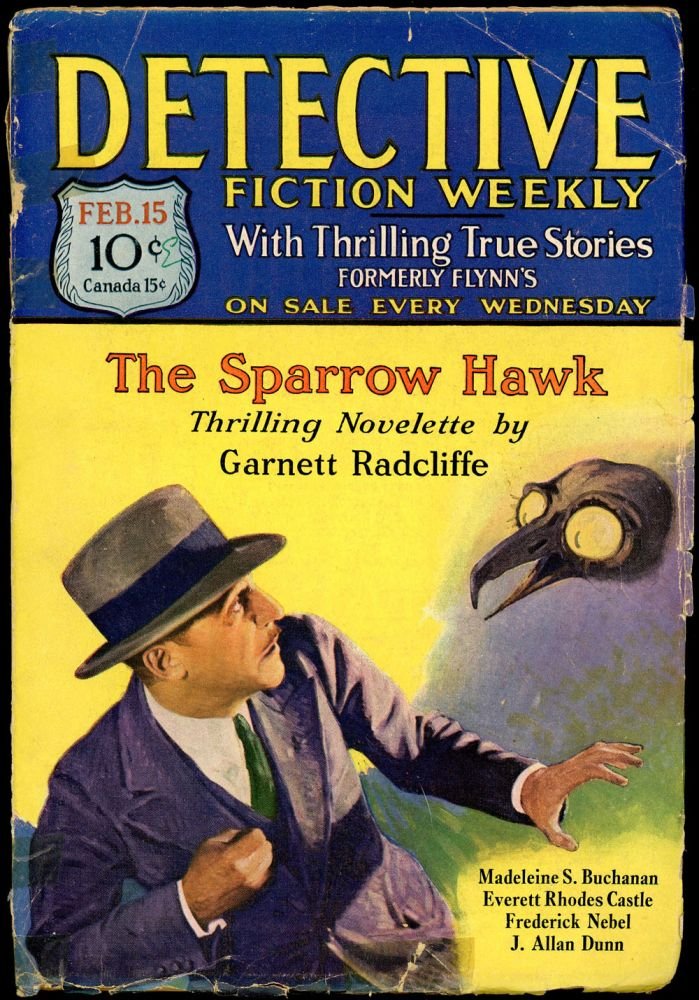 DETECTIVE FICTION WEEKLY. 1930 DETECTIVE FICTION WEEKLY. February 15, No. 1 Volume 48.