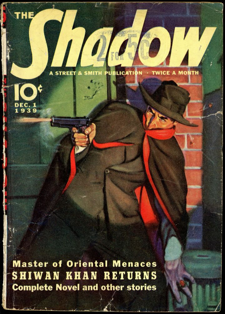 THE SHADOW. 1939 THE SHADOW. December 1, No. 1 Volume 32.