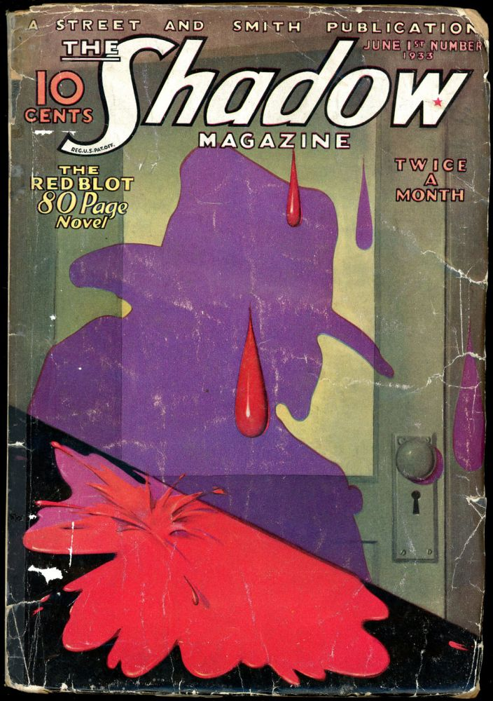 THE SHADOW. 1933 THE SHADOW. June 1, No. 1 Volume 6.