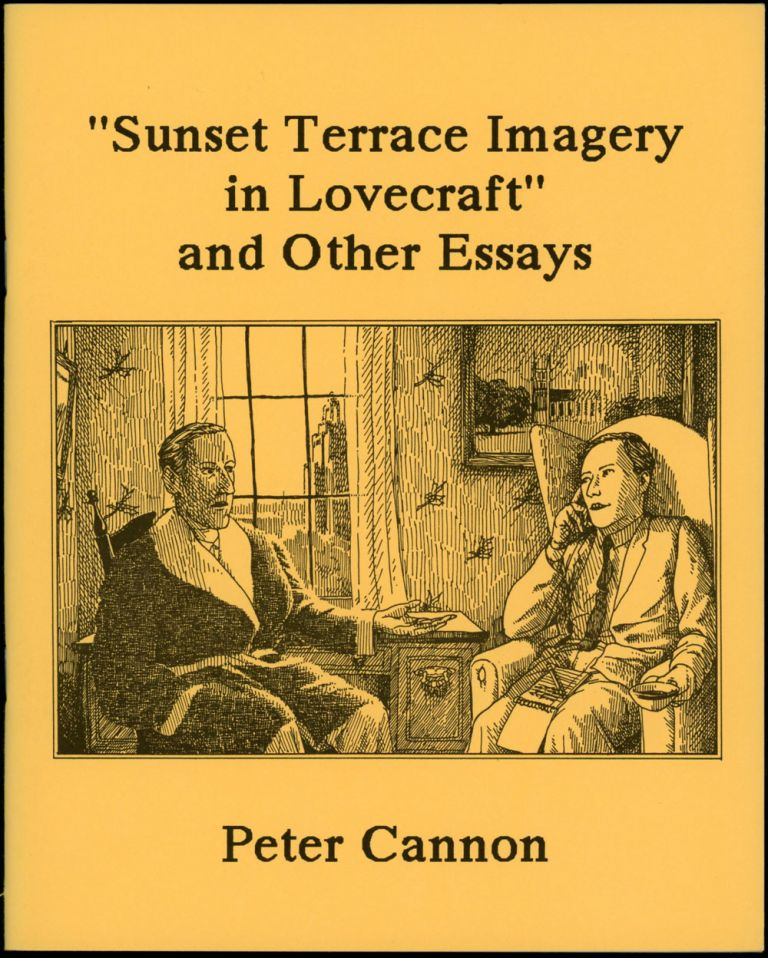 sunset terrace imagery in lovecraft and other essays h p  sunset terrace imagery in lovecraft and other essays h p lovecraft peter cannon first edition