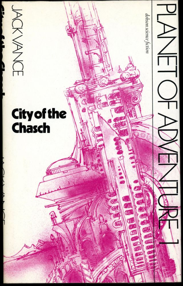 "CITY OF THE CHASCH. John Holbrook Vance, , ""Jack Vance."""