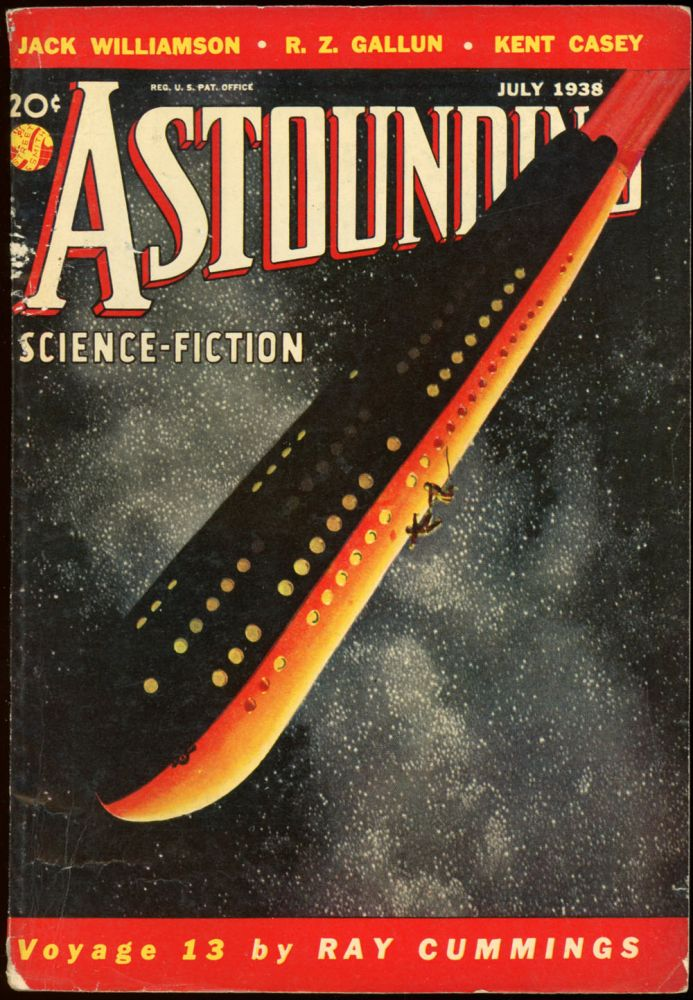 ASTOUNDING SCIENCE FICTION. 1938. . John W. Campbell ASTOUNDING SCIENCE FICTION. July, Jr, No. 5 Volume 21.