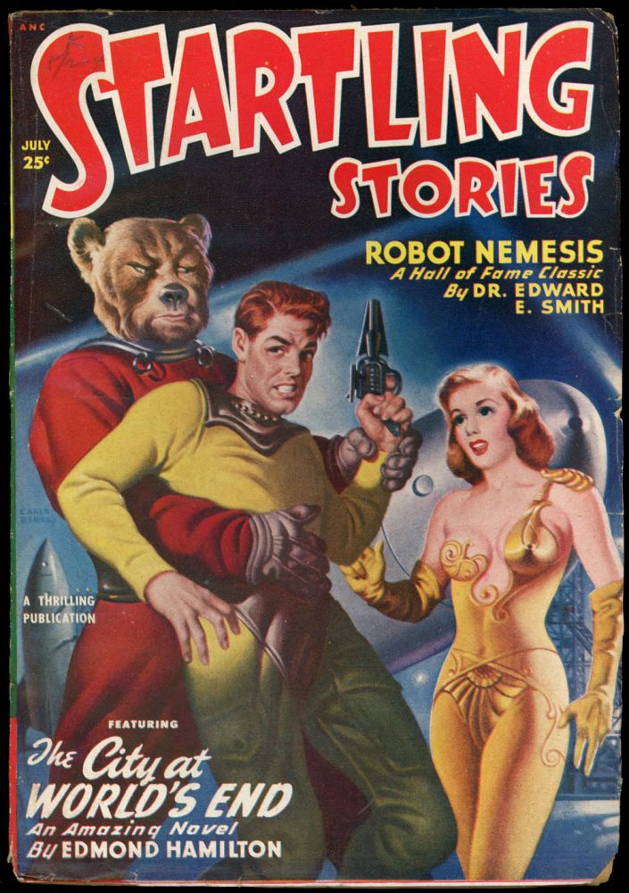 STARTLING STORIES. RAY BRADBURY. JACK VANCE, 1950 STARTLING STORIES. July, No. 3 Volume 21.