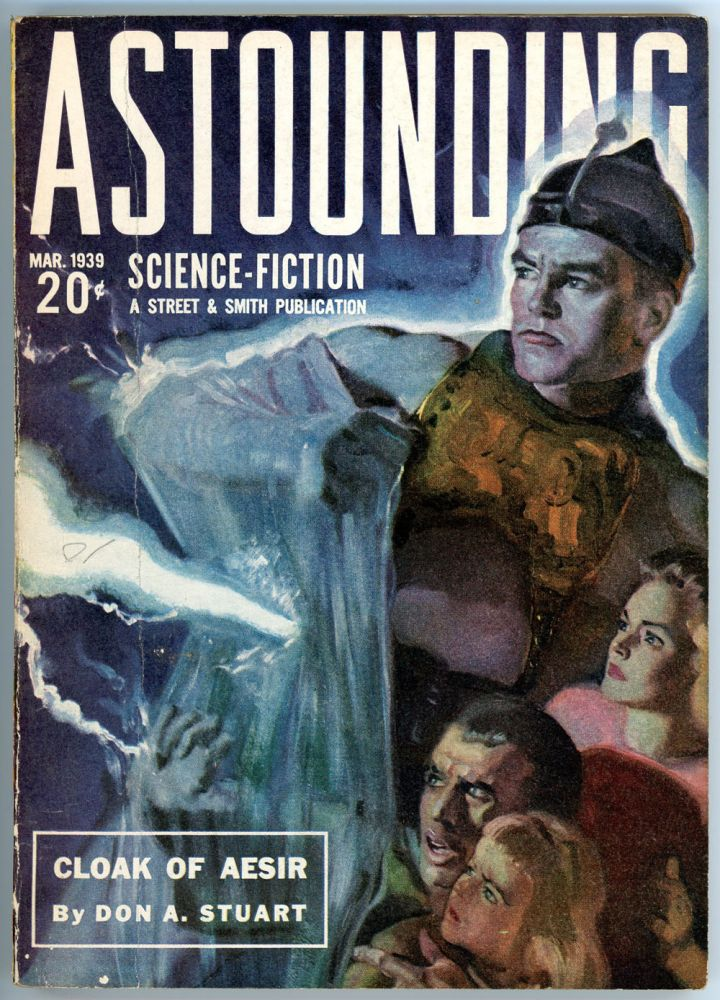 ASTOUNDING SCIENCE FICTION. ASTOUNDING SCIENCE FICTION. March 1939. . John W. Campbell Jr, No. 1 Volume 23.