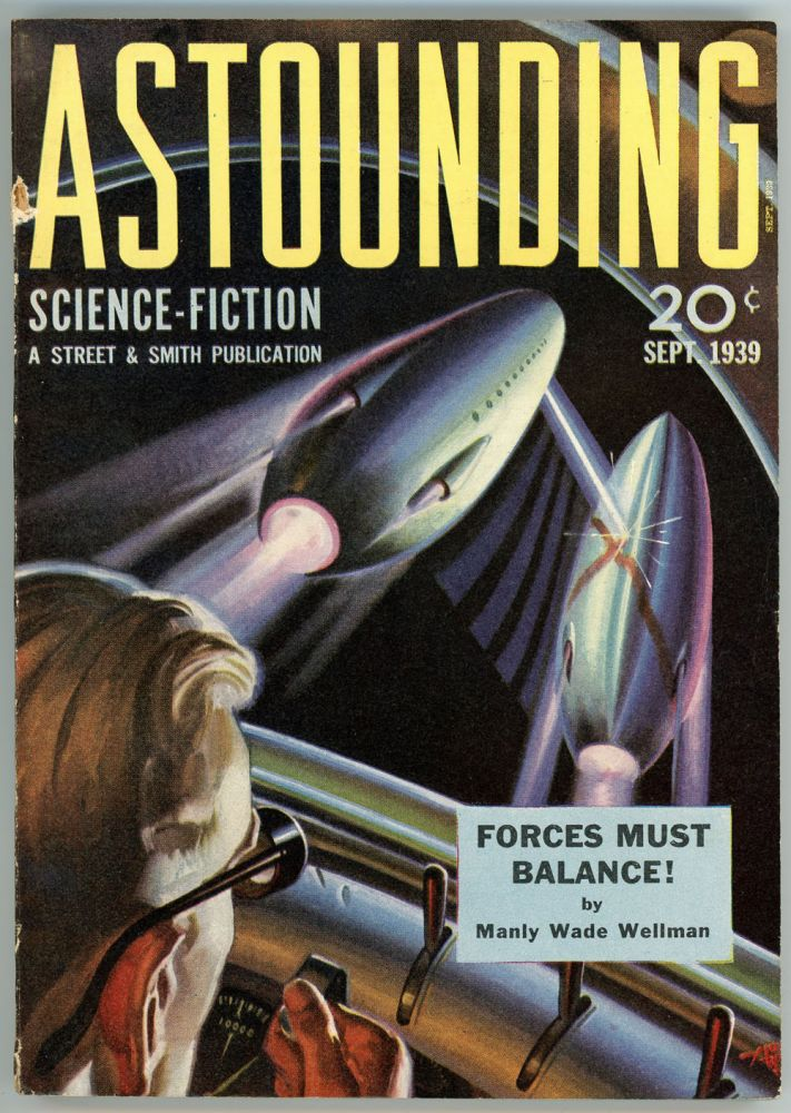 ASTOUNDING SCIENCE FICTION. ASTOUNDING SCIENCE FICTION. September 1939. . John W. Campbell Jr, No. 1 Volume 24.