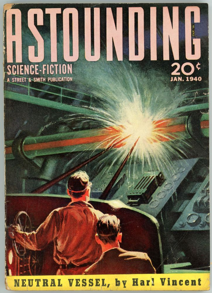 ASTOUNDING SCIENCE FICTION. 1940. . John W. Campbell ASTOUNDING SCIENCE FICTION. January, Jr, No. 5 Volume 24.