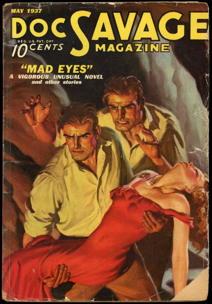 DOC SAVAGE. 1937 DOC SAVAGE. May, No. 3 Volume 9.