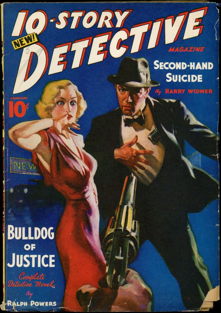 10-STORY DETECTIVE. 10-STORY DETECTIVE. January 1938, No. 1 Volume 1.