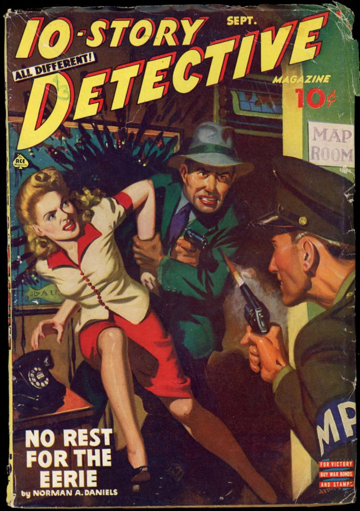 10-STORY DETECTIVE. 10-STORY DETECTIVE. September 1943., No. 1 Volume 9.
