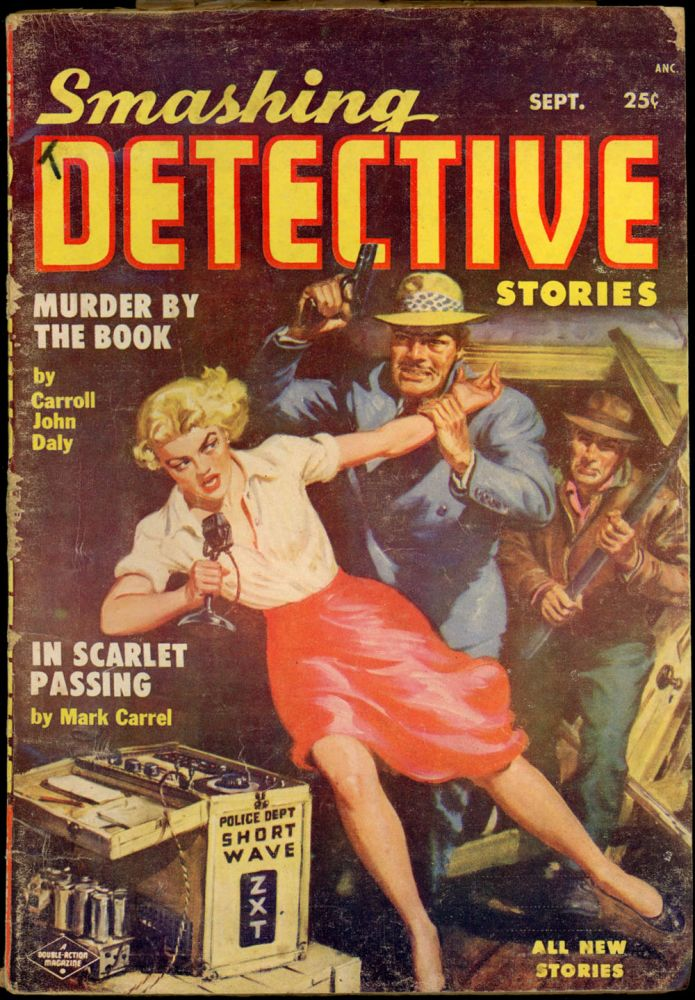 SMASHING DETECTIVE STORIES. SMASHING DETECTIVE STORIES. September 1954. . Robert W. Lowndes, No. 2 Volume 3.