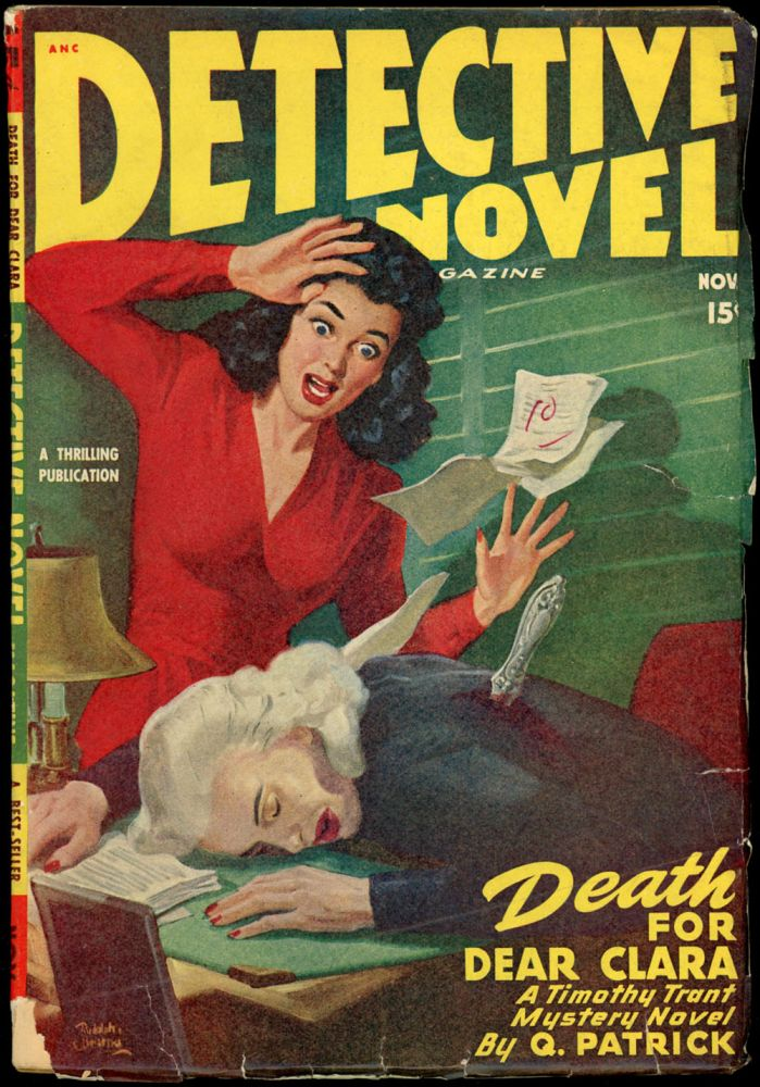 DETECTIVE NOVEL MAGAZINE. 1947 DETECTIVE NOVEL MAGAZINE. November, No. 2 Volume 20.