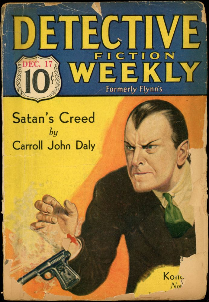 DETECTIVE FICTION WEEKLY. 1932 DETECTIVE FICTION WEEKLY. December 17, No. 5 Volume 72.