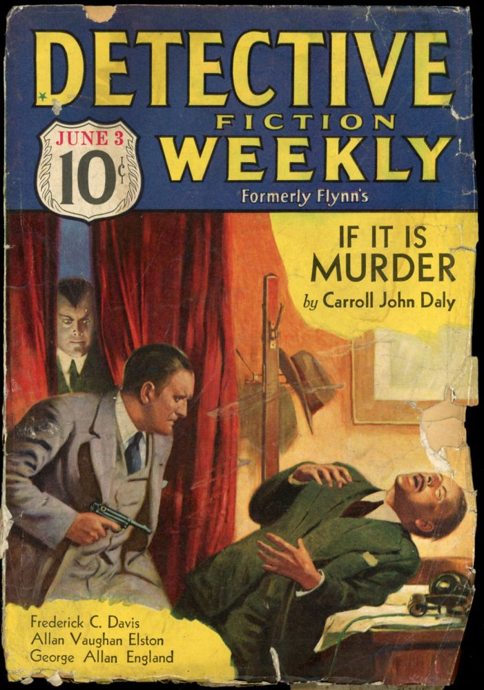 DETECTIVE FICTION WEEKLY. 1933 DETECTIVE FICTION WEEKLY. June 3, No. 5 Volume 76.