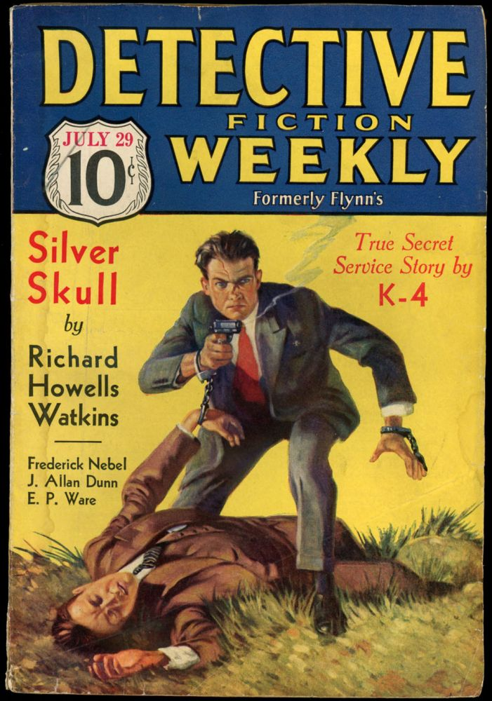DETECTIVE FICTION WEEKLY. 1933 DETECTIVE FICTION WEEKLY. July 29, No. 1 Volume 78.