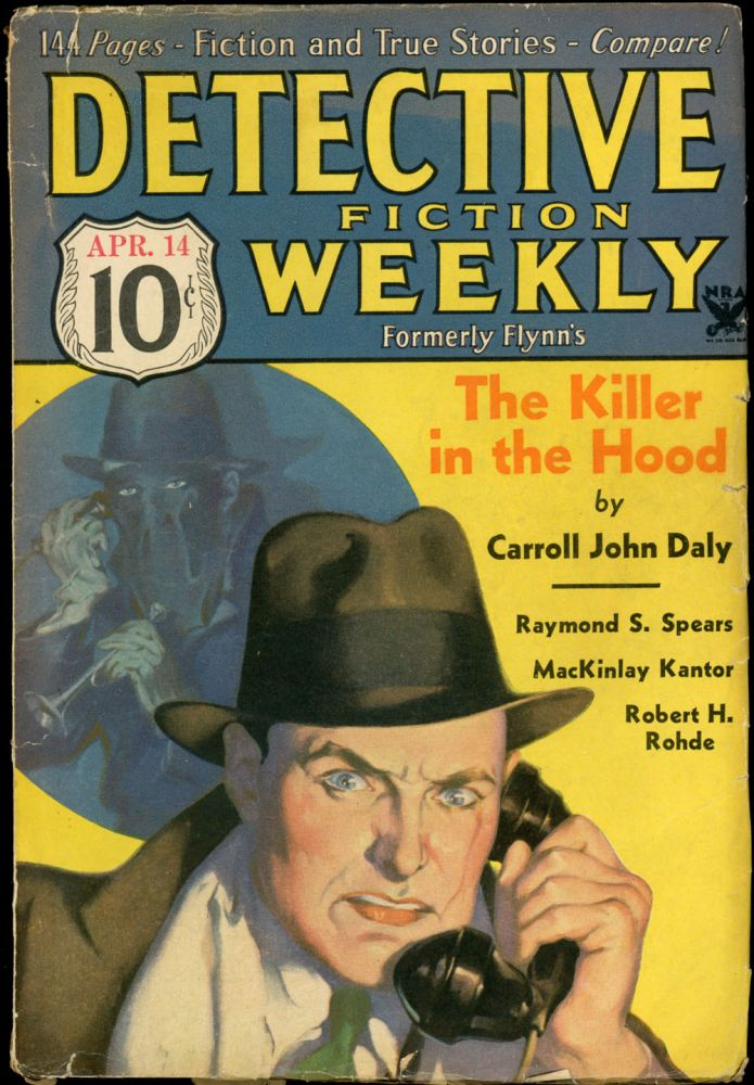 DETECTIVE FICTION WEEKLY. 1934 DETECTIVE FICTION WEEKLY. April 14, No. 1 Volume 84.
