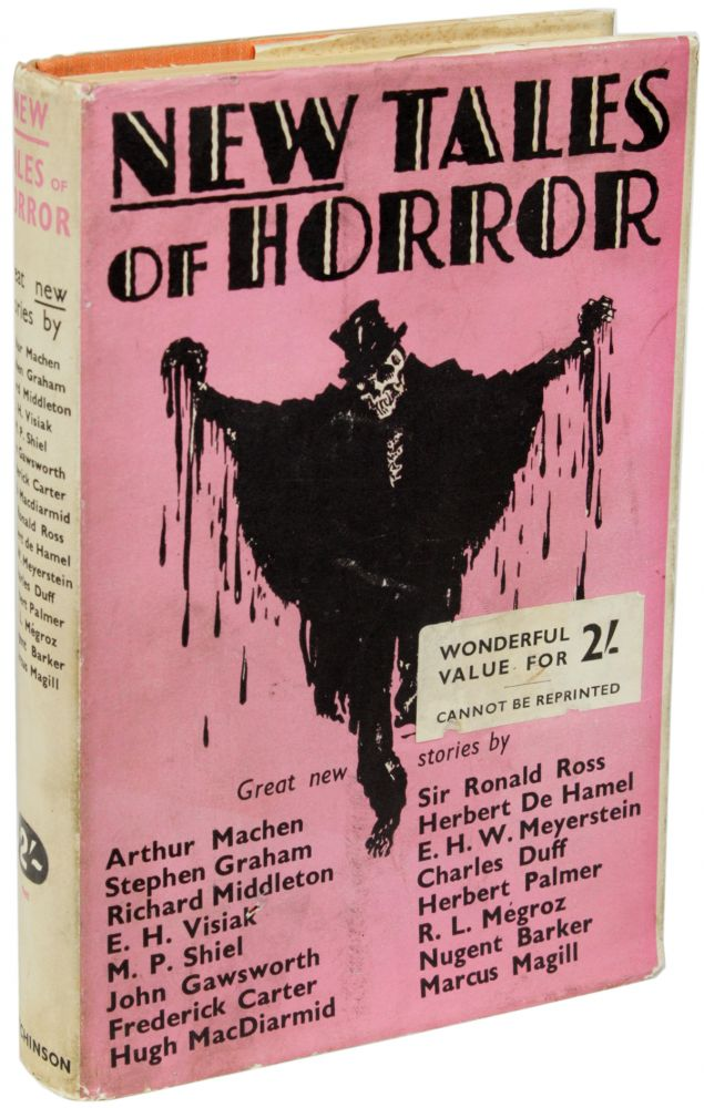 NEW TALES OF HORROR BY EMINENT AUTHORS. Terence Ian Fytton Armstrong.