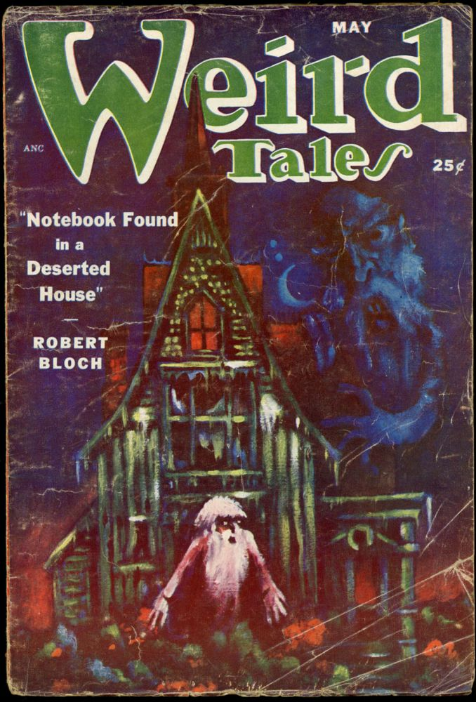 WEIRD TALES. WEIRD TALES. May 1951. . Dorothy McIlwraith, No. 4 Volume 42.