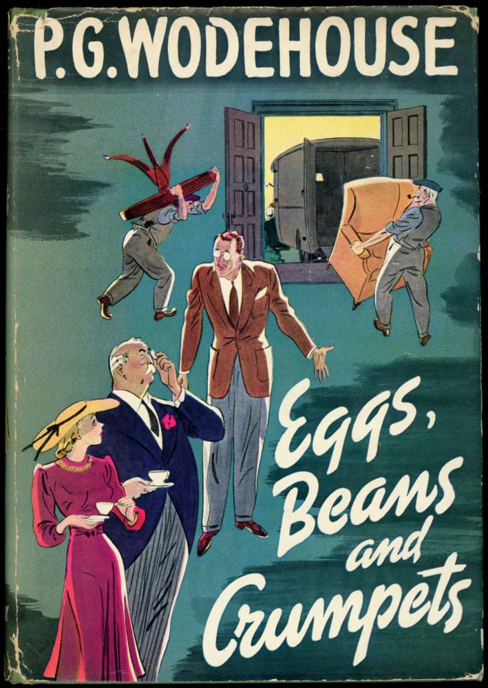 EGGS, BEANS AND CRUMPETS. Wodehouse, elham, renville.