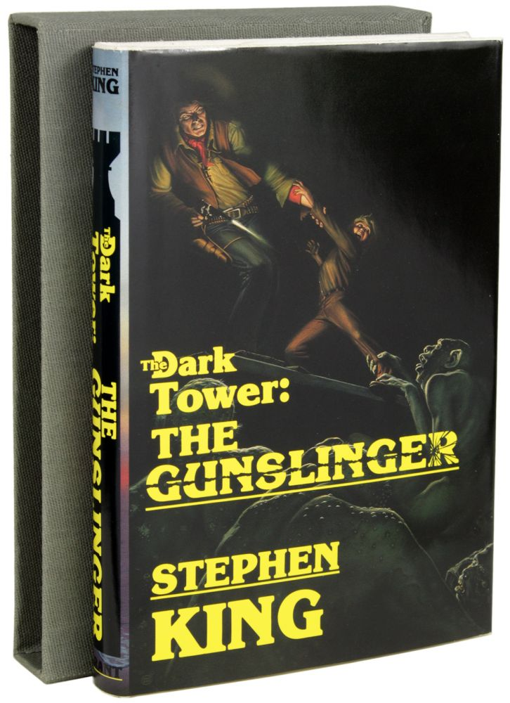 THE DARK TOWER SERIES; VOLUMES I-VII: THE GUNSLINGER, THE DRAWING OF THE THREE, THE WASTELANDS, WIZARDS AND GLASS, WOLVES OF THE CALLA, SONG OF SUSANNAH, THE DARK TOWER and THE LITTLE SISTERS OF ELURIA. Stephen King.