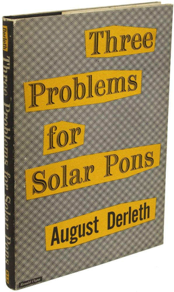 THREE PROBLEMS FOR SOLAR PONS.