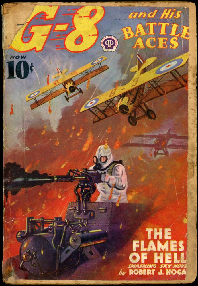 G-8 and HIS BATTLE ACES. G-8, HIS BATTLE ACES. May 1938, No. 4 Volume 14.