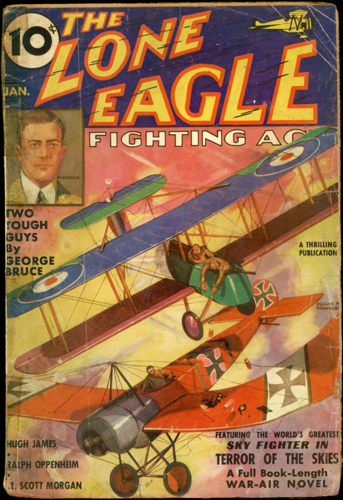 THE LONE EAGLE. THE LONE EAGLE. January 1936. . Bruce McAlester, No. 1 Volume 10.
