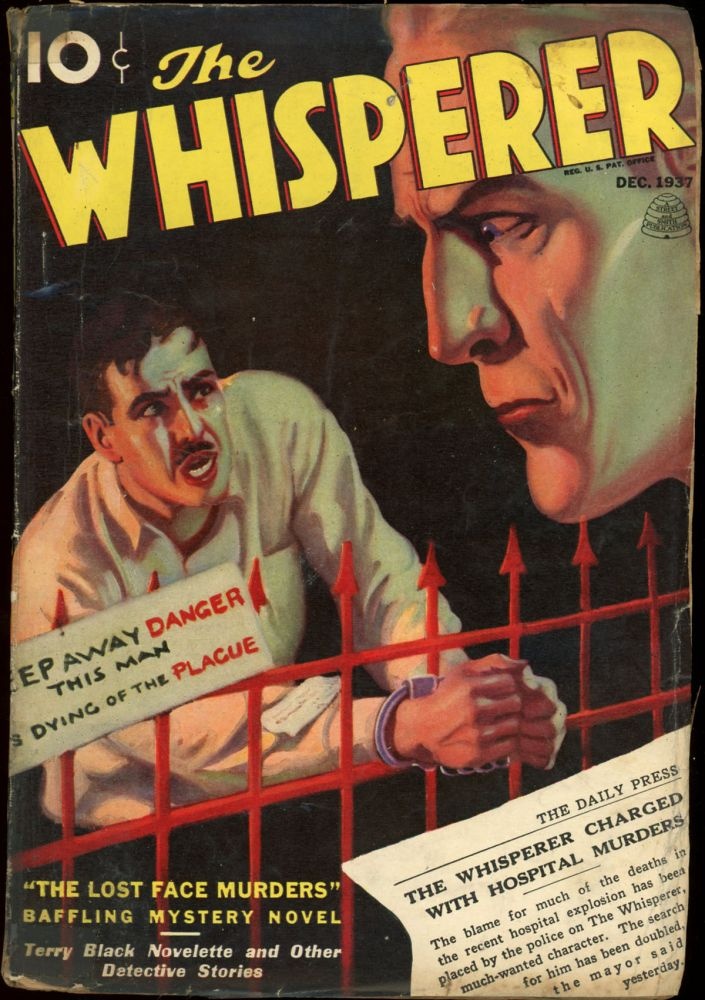 THE WHISPERER. THE WHISPERER. December 1937, No. 2 Volume 3.