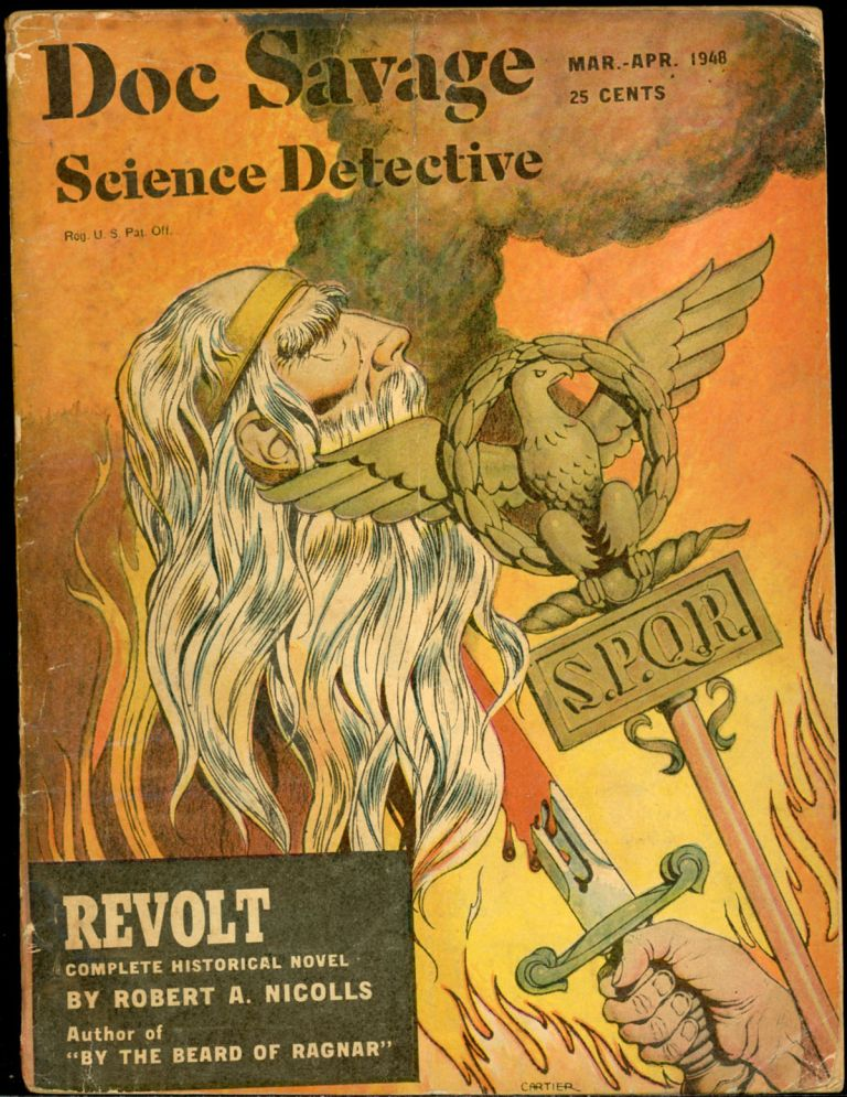 DOC SAVAGE. 1948. . B. Rosmond DOC SAVAGE SCIENCE DETECTIVE. March-April, No. 1 Volume 30.