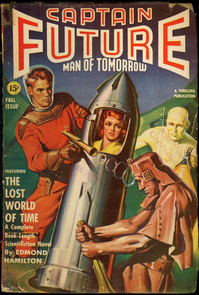 CAPTAIN FUTURE. CAPTAIN FUTURE. Fall 1941, No. 2 Volume 3, Edmond Hamilton.