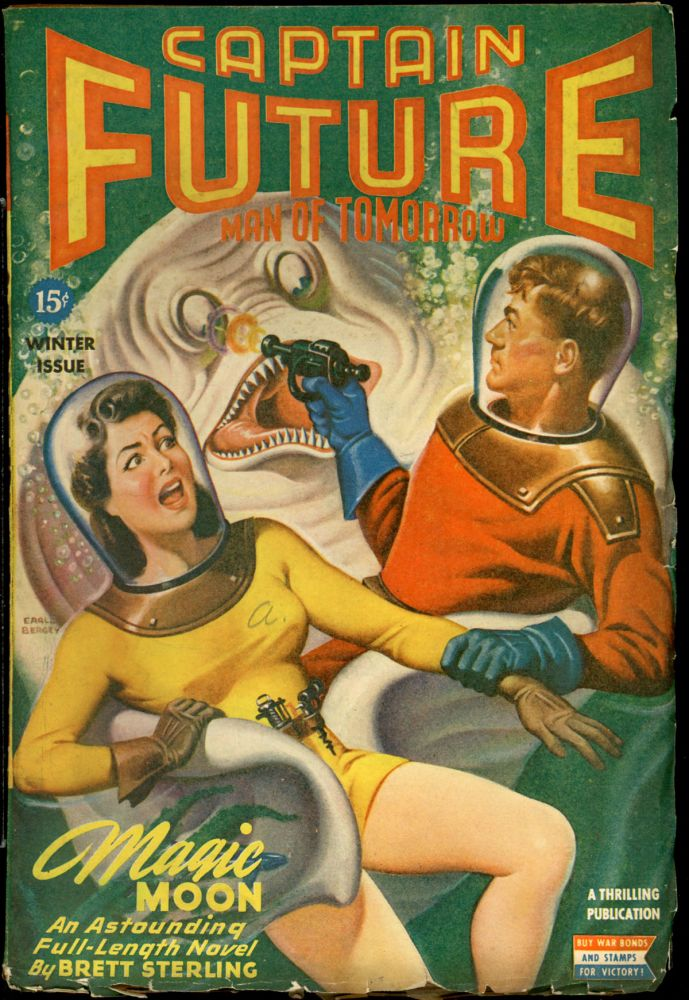 CAPTAIN FUTURE. CAPTAIN FUTURE. Winter 1944, No. 1 Volume 6.