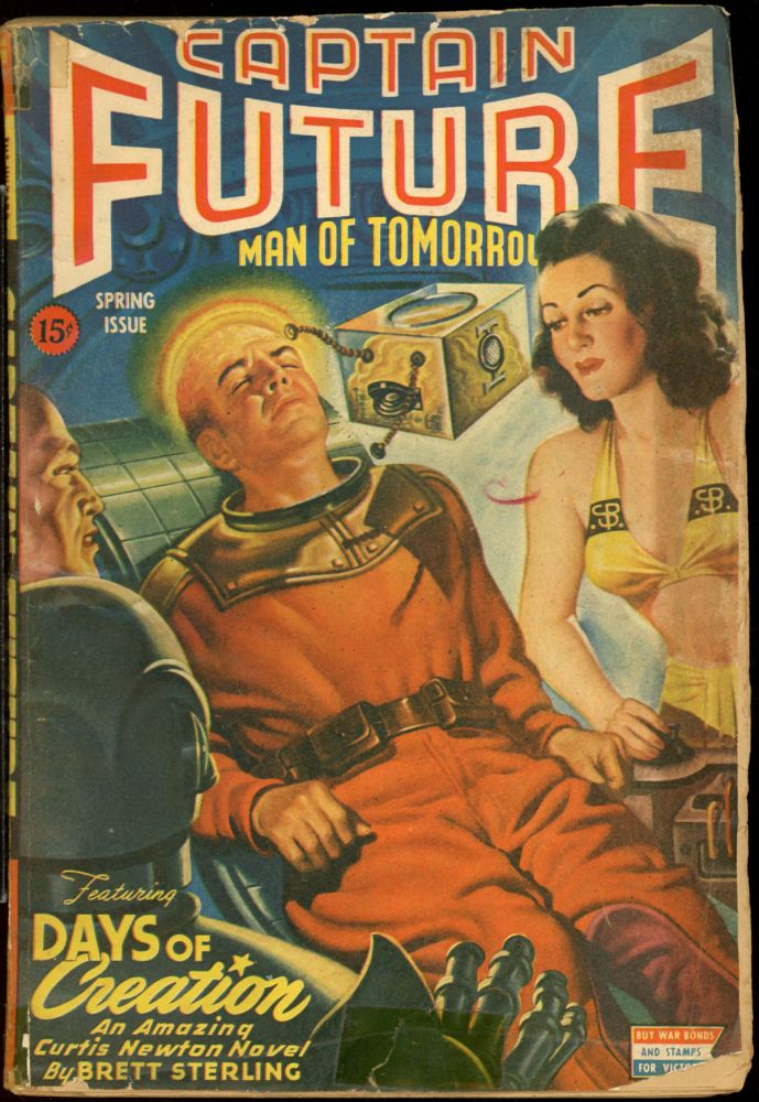 CAPTAIN FUTURE. CAPTAIN FUTURE. Spring 1944, No. 2 Volume 6.