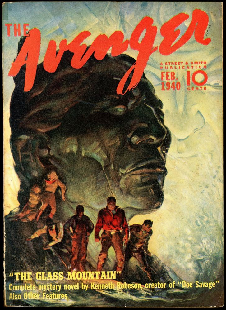 THE AVENGER. THE AVENGER. February 1940, No. 6 Volume 1.