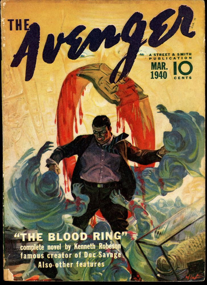 THE AVENGER. THE AVENGER. March 1940, No. 1 Volume 2.