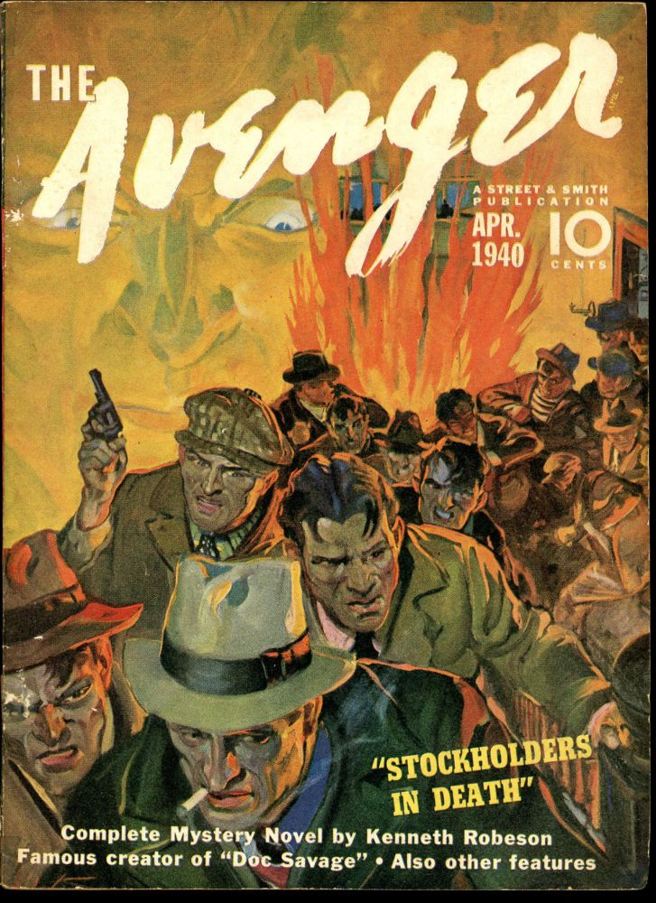 THE AVENGER. THE AVENGER. April 1940, No. 2 Volume 2.