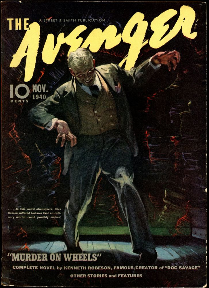THE AVENGER. THE AVENGER. October 1940, No. 1 Volume 3.