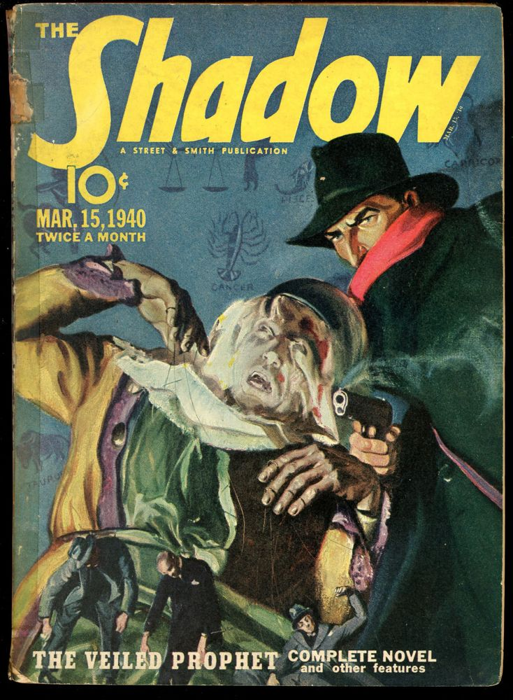 THE SHADOW. 1940 THE SHADOW. March 15, Volume 33 No. 2.