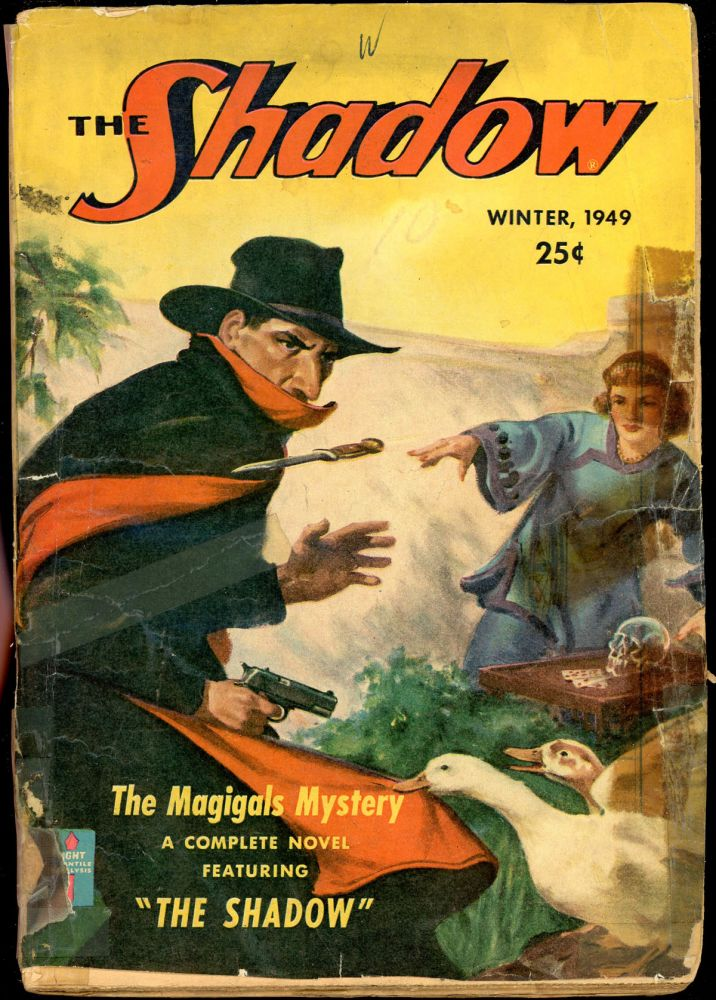 THE SHADOW. THE SHADOW. Spring 1949, No. 6 Volume 54.