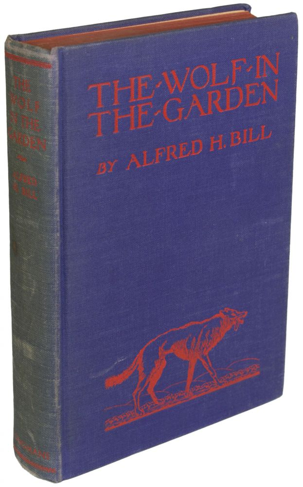 THE WOLF IN THE GARDEN. Alfred Bill, oyt.