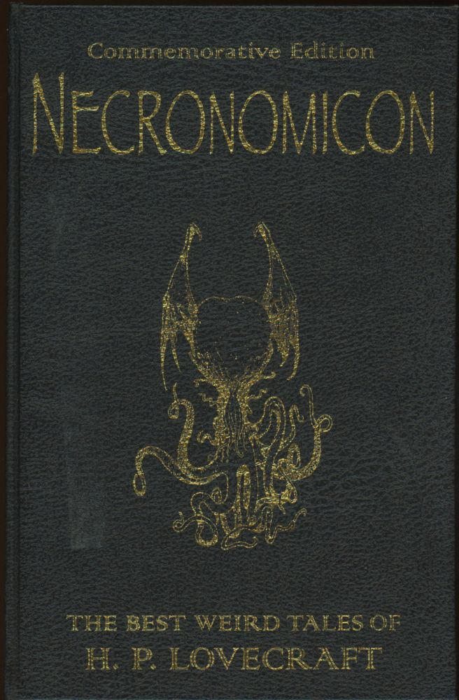 NECRONOMICON: THE BEST WEIRD TALES OF H. P. LOVECRAFT...edited by Stephen Jones. Lovecraft, oward, hilips.